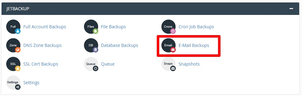 email account backup